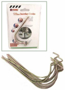 Amazing (Pkg 10) 40LB Wall Hooks. Great for Pictures, Planters, Mirrors and More!