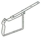 15160GV10 18.9l 16GA K HANGER DESC:galvanised SIZE:13cm