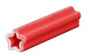 CRL 0.6cm Straight Line Plastic Screw Anchors- Package of 100