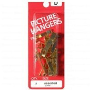 ASSORTED PIC HANGER BRASS