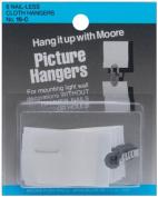 Nail-Less Cloth Picture Hangers 6/Pkg-
