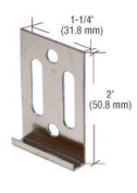 CRL Zinc Vancouver Clip for 4MM Mirror - Package
