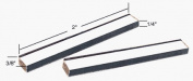 CRL 1cm x 0.6cm x 5.1cm Clear Plastic Setting Blocks - 100 Pack
