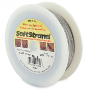 Softstrand 625-Feet Picture Wire Uncoated Stranded Stainless Steel