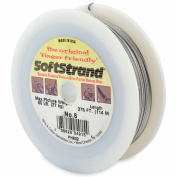Softstrand Size 8 - 375-Feet Picture Wire Uncoated, Stranded Stainless Steel