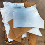2-Lb Assorted Leather Scraps. Great for Crafts