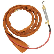 Steiner 22133-100 2.5cm - 0.6cm Diam. Leather Cable Cover, Snaps - 100' Length