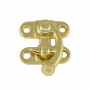 Springfield Leather Company 3.2cm Brass Plate Swing Lock Clasp