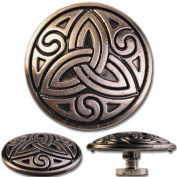Concho / Screw Back Rivet Celtic Trinity