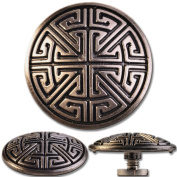 Concho / Screw Back Rivet Celtic Key Pattern