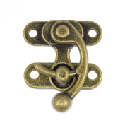 Springfield Leather Company 4.4cm Antique Brass Plate Swing Lock Clasp