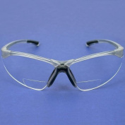 Radians Reading Bifocal Clear C2 Safety Glasses +2.0