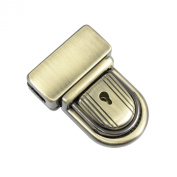 Springfield Leather Company 3.8cm Antique Brass Plate Tuck Lock Clasp