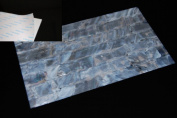 White Freshwater Shell Coated Adhesive Veneer Sheet