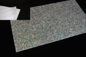 Paua Sparkle Coated Adhesive Veneer Sheet