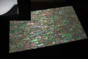 Prism Abalone Shell Coated Enhanced Adhesive Veneer Sheet