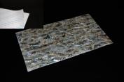Green Abalone Shell Coated Adhesive Veneer Sheet