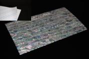 White Paua Shell Coated Adhesive Veneer Sheet