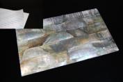 Black Mother-of-Pearl Shell Coated Adhesive Veneer Sheet