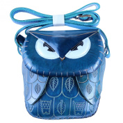 Mr. Blue Owl - Blue Owl Shoulder Purse
