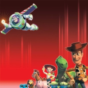 Disney Specialty Paper 30cm x 30cm -Buzz & The Gang W/Embossing 25 per pack