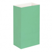 Luminaria Bags- Green Standard 100 Ct