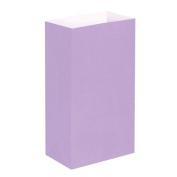 Luminaria Bags- Lavender Standard 100 Ct