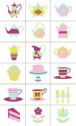 Slice Tea Party Design Card