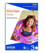 compatible with EpsonPhoto Paper Glossy, Perforated, 10cm x 15cm , 50 Sheets
