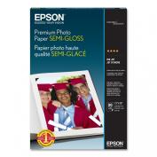 compatible with EpsonPremium Photo Paper SEMI-GLOSS (33cm x 48cm , 20 Sheets)