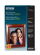 Epson Ultra Premium Photo Paper lustre (33cm x 48cm , 50 Sheets)