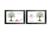 Quinceanera Guest Book Tree # 2 x (2) 24 x 36 Posters 225-350+ Guests