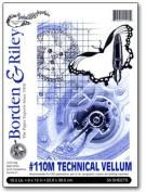 Borden & Riley #110M Technical Vellum 23cm . x 30cm . pad