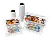 2.5cm X 10cm Doodle Roll, 2.5cm X 15cm Doodle Roll and 2.5cm X 10cm Replacement Roll and 15cm Replacement Roll