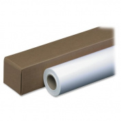 "Amerigo Inkjet Bond Paper Roll, 7.6cm ""x 150 ft., White"