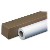 "Amerigo Inkjet Bond Paper Roll, 7.6cm ""x 150 ft., White"