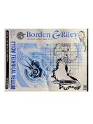 Borden & Riley #110M Technical Vellum 46cm . x 60cm . pad