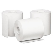 PMC 09228 Single-Ply Cash Register/POS Rolls, 7.6cm . x 85 ft., White, 50/Carton