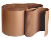 Aviditi SF36 A Flute Single Face Corrugated Roll, 250' Length x 90cm Width, Kraft