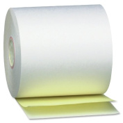 PM Company 08963 Self-Contained Financial Rolls, 2-ply, 50 Rolls/Carton, 7.6cm x 90 Feet