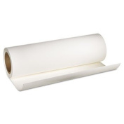 "Hot Press Bright Fine Art Paper, 2.5cm ""x 50 ft, Bright White, Roll"
