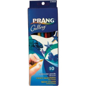 Prang Watercolour Pencils with Brush 10 Ct