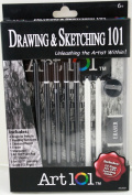 Drawing and Sketching Art 101 Kit