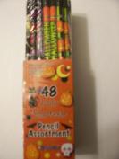 DesignWay Halloween Pencil, 48-Pack