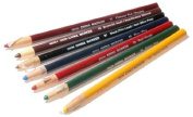 CHINA MARKERS CHINAGRAPH PENCIL [7 MIXED SET] NON TOXIC EXCEPTIONAL QUALITY