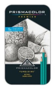 12 Pc Sanford Prismacolor Premier Turquoise Drawing Pencil Set