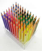 70 Piece Colour Pencil Set with Organiser Storage Box for Art, Drawing, Crafts & Scrapbooking
