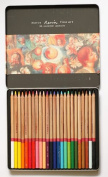 Artist Coloured Art Pencil 24 Colour Set, Tin Box