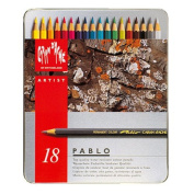 Caran D'ache Pablo Colour Pencils Set Of 18