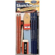 6 Pack GENERAL'S SKETCHMATE DRAW KIT Drafting, Engineering, Art